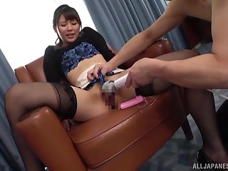 Konoka Yura ends up riding hard after a nice toy starup