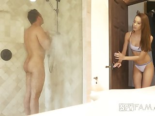 Sex-starved babe Charity Crawford gets intimate less stepbrother