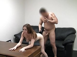 Young get hitched sucks racy and takes cum